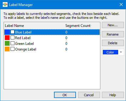 Labels Manager