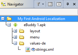 CATALYST Navigator for Android files